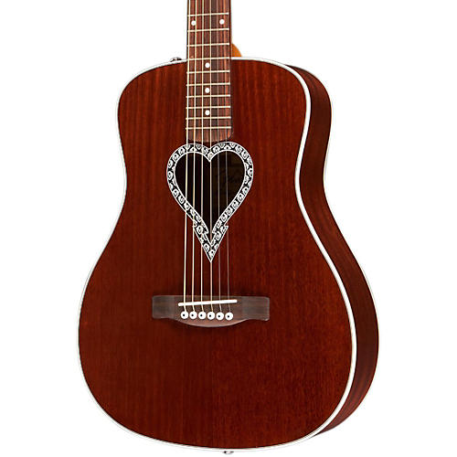 Fender Artist Design Series Alkaline Trio Malibu Mahogany Dreadnought Acoustic Guitar