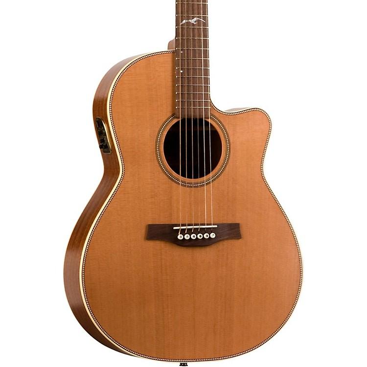 SeagullArtist Mosaic CW QII Folk Acoustic-Electric GuitarNatural