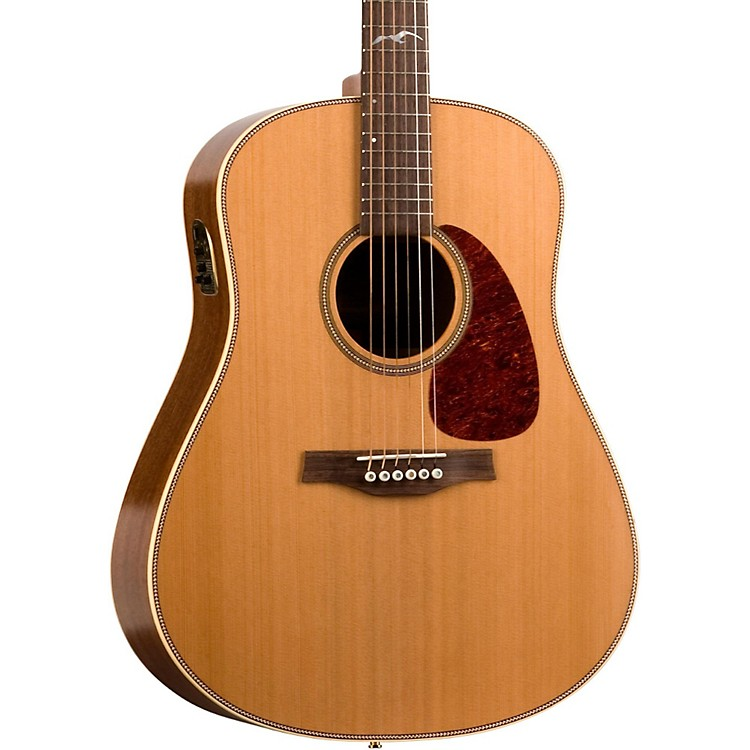 Seagull Artist Mosaic QII Acoustic-Electric Guitar Natural
