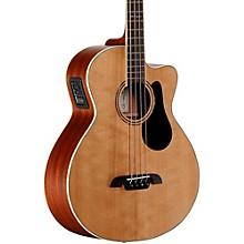 Alvarez Artist Series AB60CE Acoustic-Electric Bass Guitar Level 1 Natural