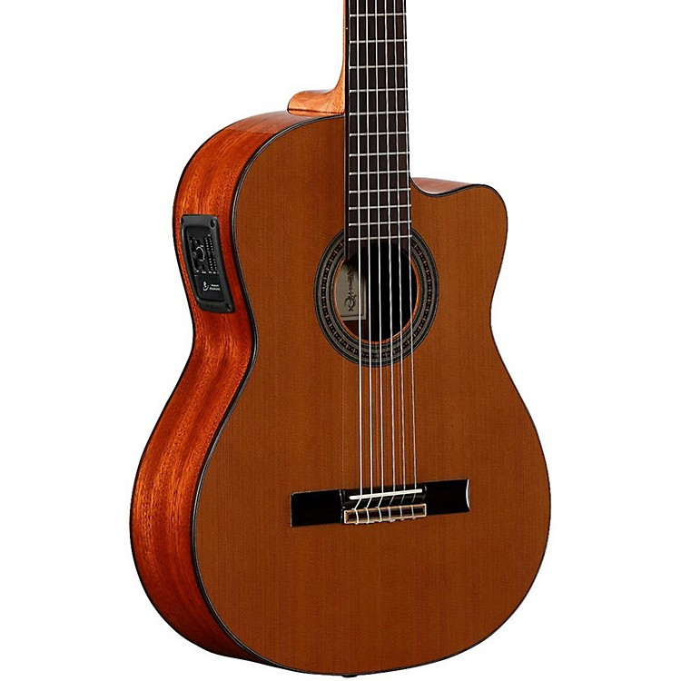 Alvarez Artist Series AC65CE Classical Acoustic-Electric Guitar Natural