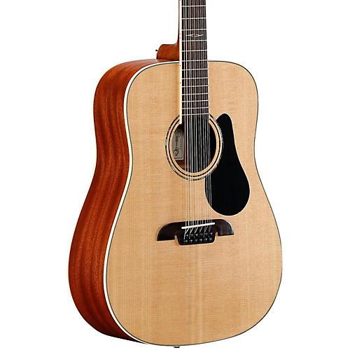 Alvarez Artist Series AD60-12 Dreadnought Twelve String Acoustic Guitar Natural