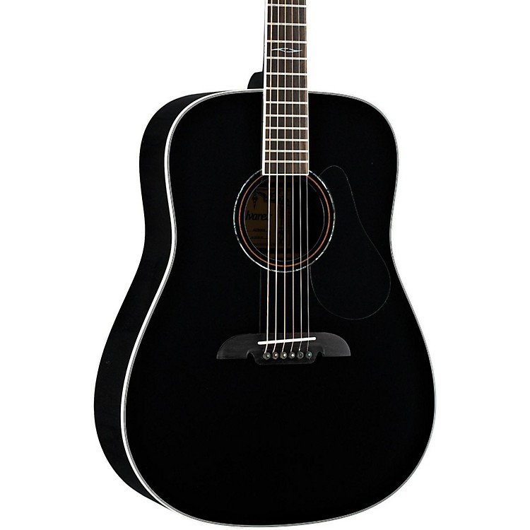 Alvarez Artist Series AD60 Dreadnought  Acoustic Guitar Black