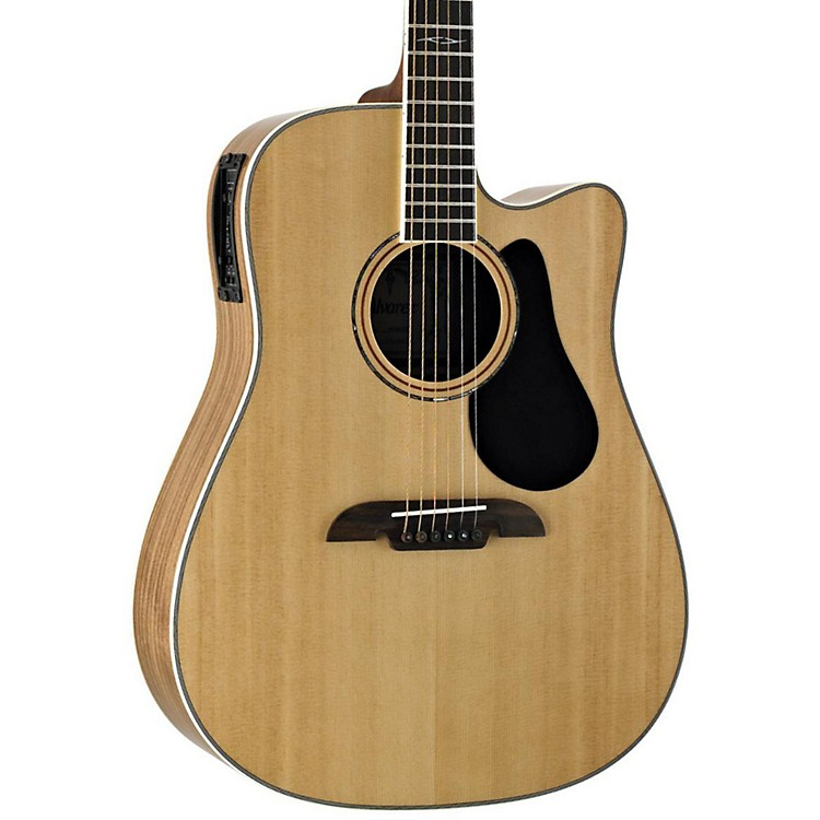 Alvarez Artist Series AD90CE Dreadnought Acoustic-Electric Guitar Natural