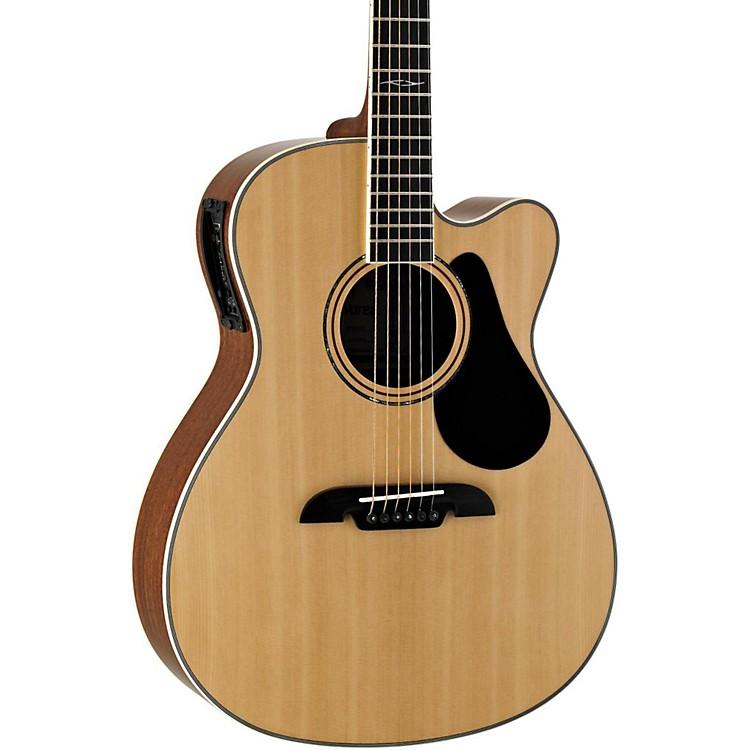 AlvarezArtist Series AF60CE Folk Acoustic-Electric GuitarNatural