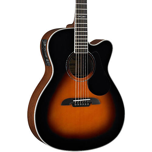 Alvarez Artist Series AF60CE Folk Acoustic-Electric Guitar Sunburst