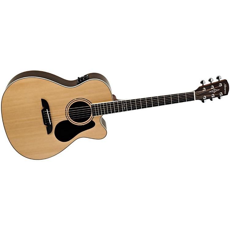 AlvarezArtist Series AF70CE Folk Acoustic-Electric Guitar