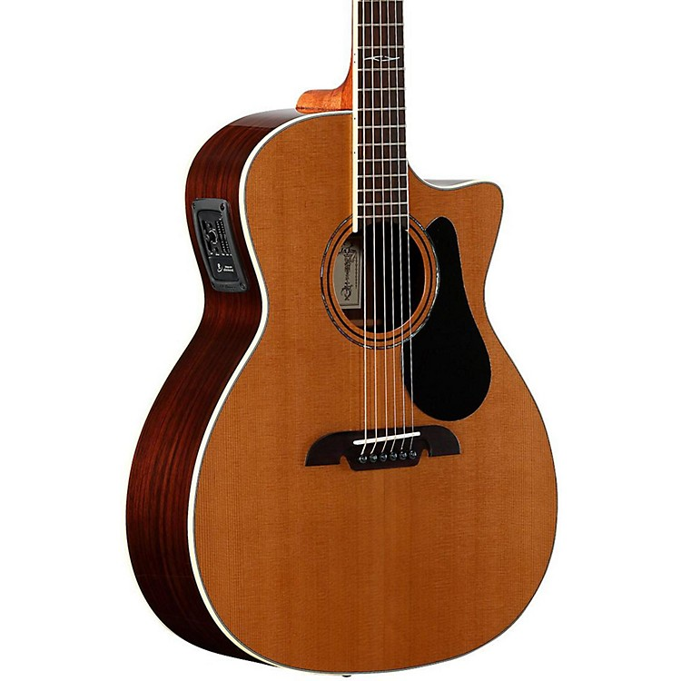 AlvarezArtist Series AG75CE Grand Auditorium Acoustic-Electric GuitarNatural