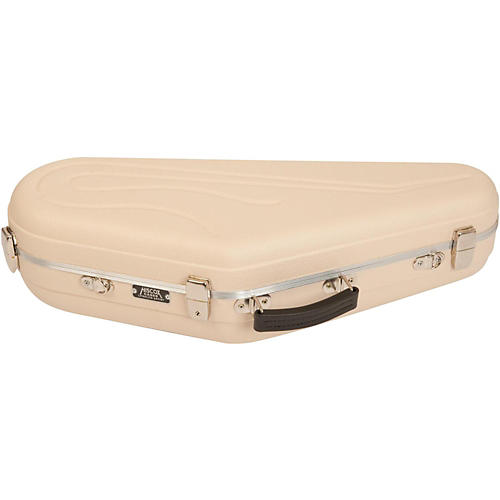 Hiscox Cases Artist Series Alto Saxophone Case Ivory Shell with Silver Interior