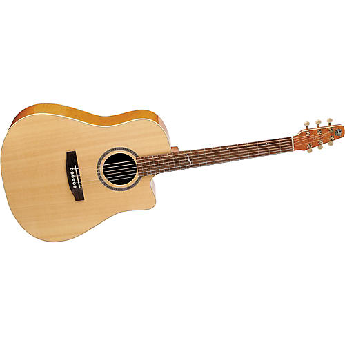 Seagull Artist Series Cameo CW Dreadnought Acoustic Guitar with Deluxe Case-thumbnail