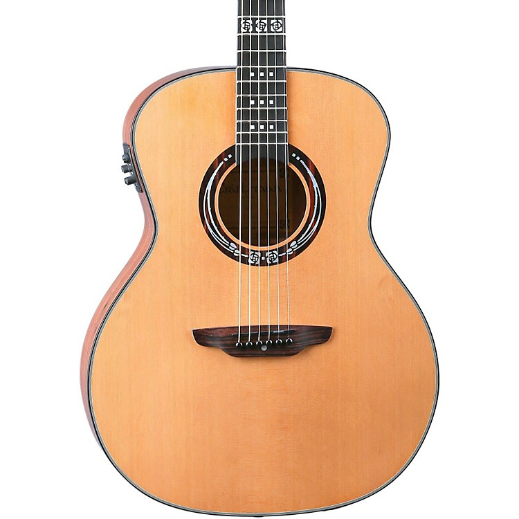 Luna Guitars Artist Series Craftsman All Solid Wood Grand Auditorium Acoustic-Electric Guitar