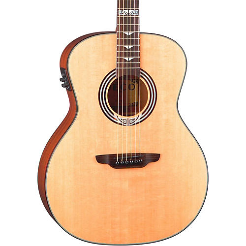 Luna Guitars Artist Series Deco All Solid Wood Grand Auditorium Acoustic-Electric Guitar-thumbnail