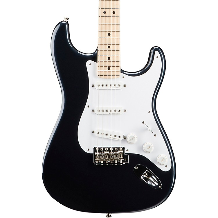 Fender Custom Shop Artist Series Eric Clapton Stratocaster Electric Guitar Black Maple Fretboard