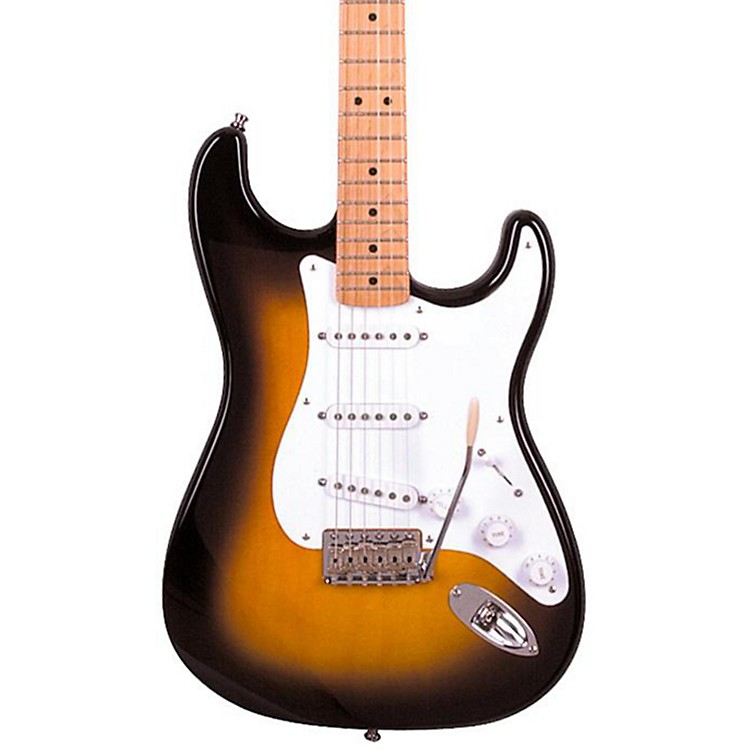 Fender Artist Series Jimmie Vaughan Tex-Mex Stratocaster Electric Guitar 2-Color Sunburst