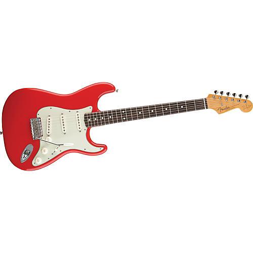 Fender Artist Series Mark Knopfler Stratocaster Electric Guitar (Hot Rod Red)