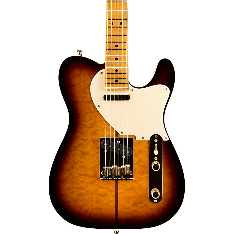 Fender Custom Shop Artist Series Merle Haggard Signature Telecaster Electric Guitar 2-Tone Sunburst