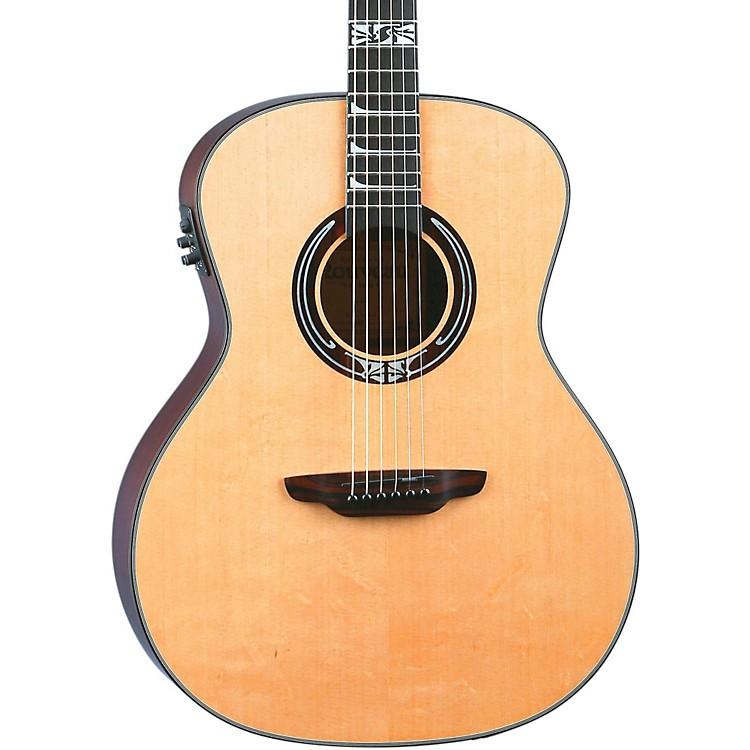 Luna GuitarsArtist Series Nouveau All Solid Wood Grand Auditorium Acoustic-Electric GuitarNatural