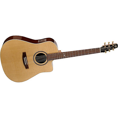 Seagull Artist Series Peppino D'Agostino Signature Model Cutaway i-Beam Duet Acoustic-Electric Guitar