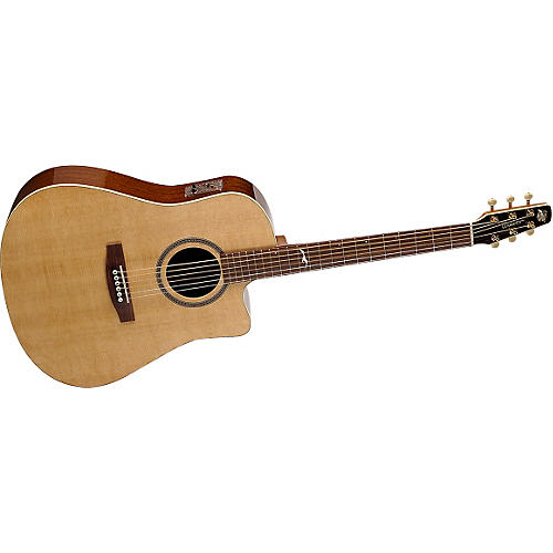 Seagull Artist Series Portrait Cutaway iBeam Duet Acoustic-Electric Guitar