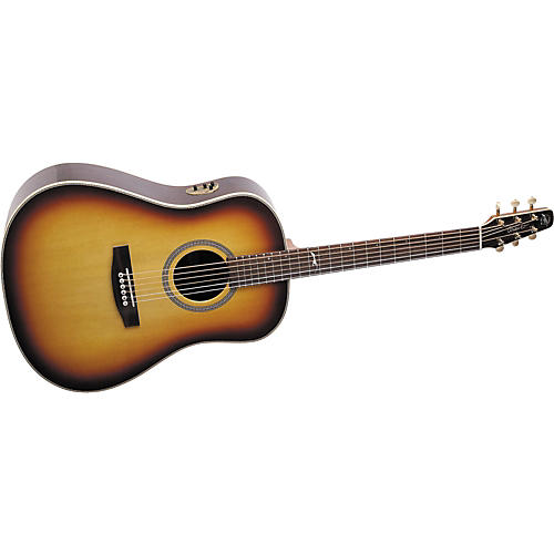 Seagull Artist Series Studio Dreadnought QII Acoustic-Electric Guitar with Deluxe Case