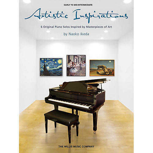 Willis Music Artistic Inspirations (Early to Mid-Inter Level) Willis Series Book by Naoko Ikeda-thumbnail