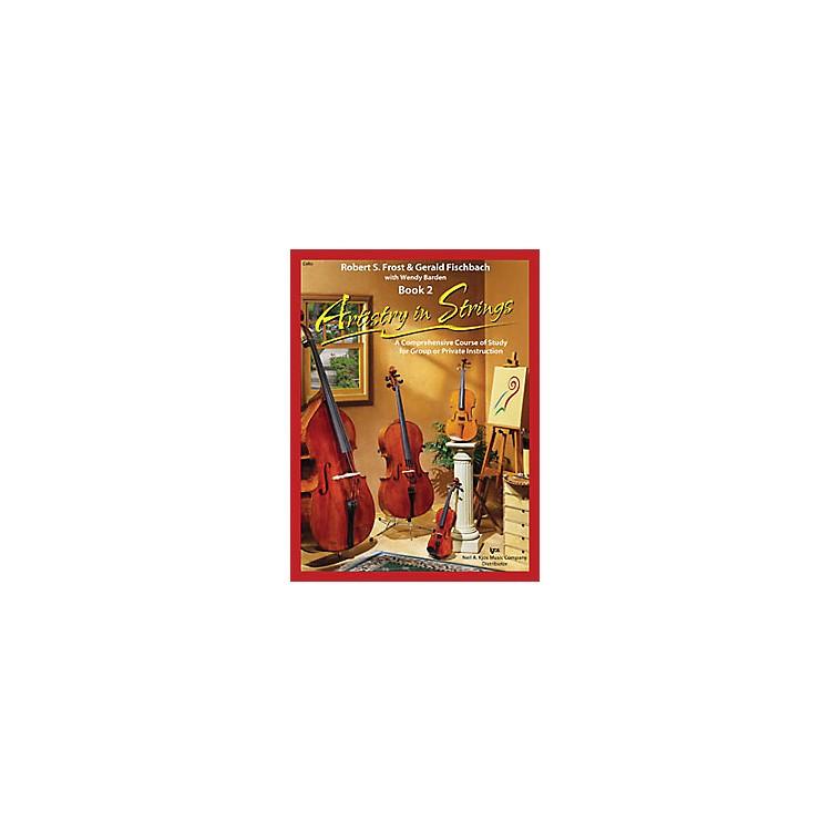 KJOSArtistry In Strings 2 Book/CD Cello Book