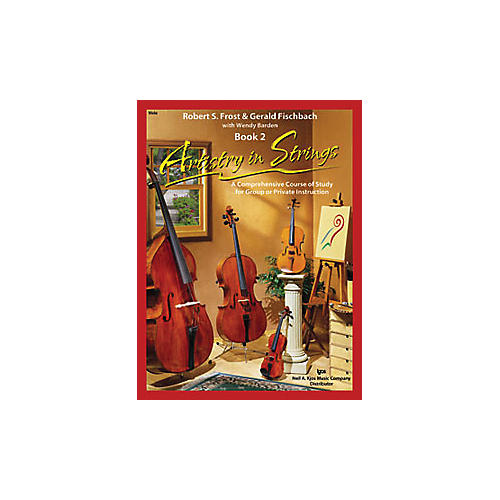 KJOS Artistry In Strings 2 Book/CD Viola Book