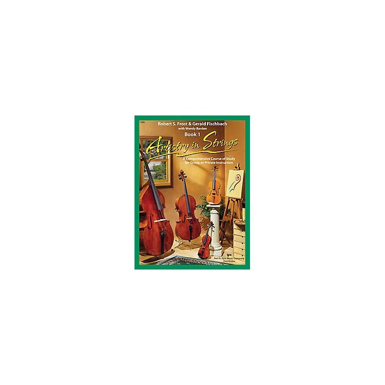 KJOSArtistry In Strings Book 1/CD Cello