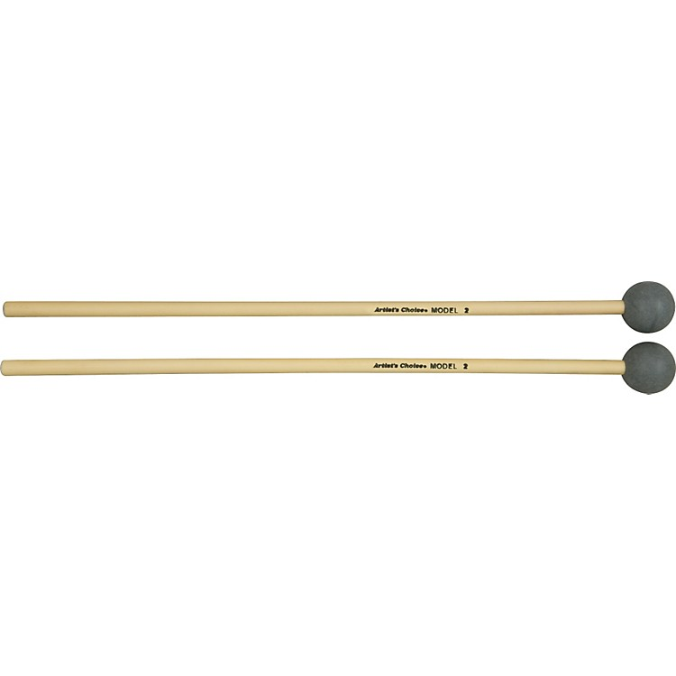 Grover Pro Artist's Choice Xylophone / Bell Mallets 1 1/8 Inch Hard Pvc