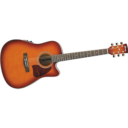 Ibanez Artwood AW20ECE Dreadnought Cutaway Acoustic-Electric Guitar with Onboard Tuner-thumbnail