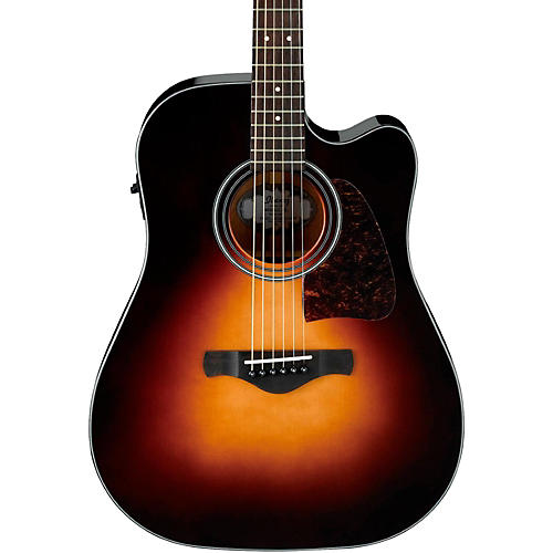 Ibanez Artwood AW4000-BS Dreadnought Acoustic-Electric Guitar