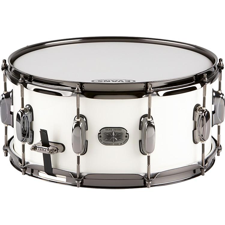 TamaArtwood Custom Snare DrumPiano White6.5x13
