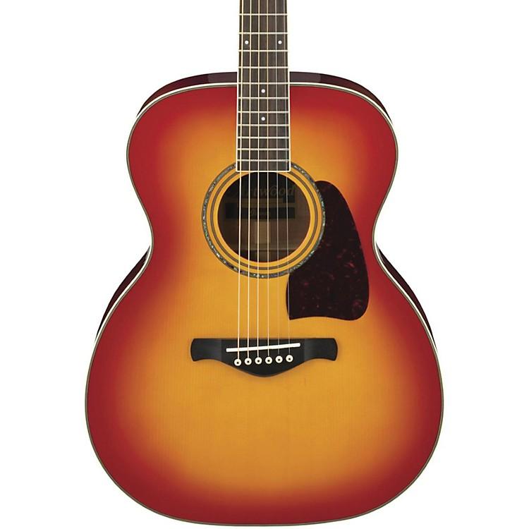 IbanezArtwood Series AC300 Grand Concert Acoustic GuitarCherry Sunburst