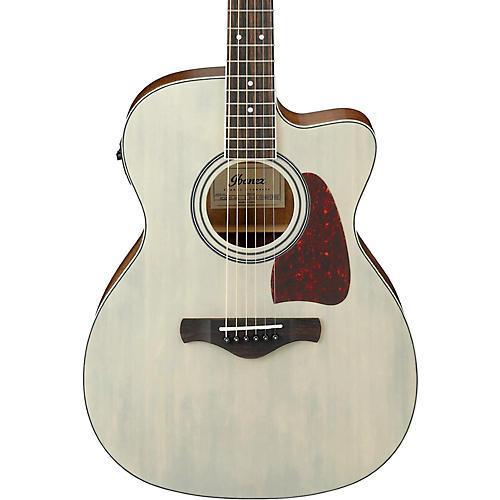 Ibanez Artwood Series AC320CEABL Solid Top Grand Concert Acoustic-Electric Guitar-thumbnail