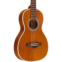 Ibanez Artwood Vintage All Mahogany Parlor Acoustic Electric Guitar Level 1 Natural