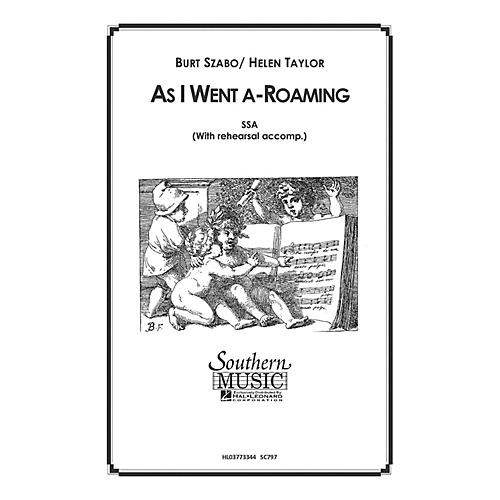 Hal Leonard As I Went A Roaming (Choral Music/Octavo Secular Ssa) SSA Composed by Szabo, Burt-thumbnail