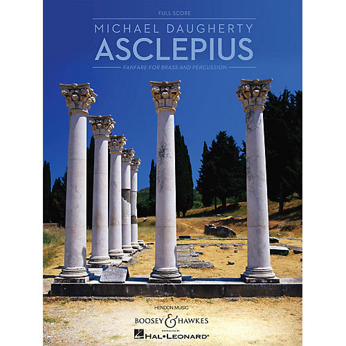 Boosey and Hawkes Asclepius (for Brass and Percussion Full Score) Boosey & Hawkes Chamber Music Series by Michael Daugherty-thumbnail