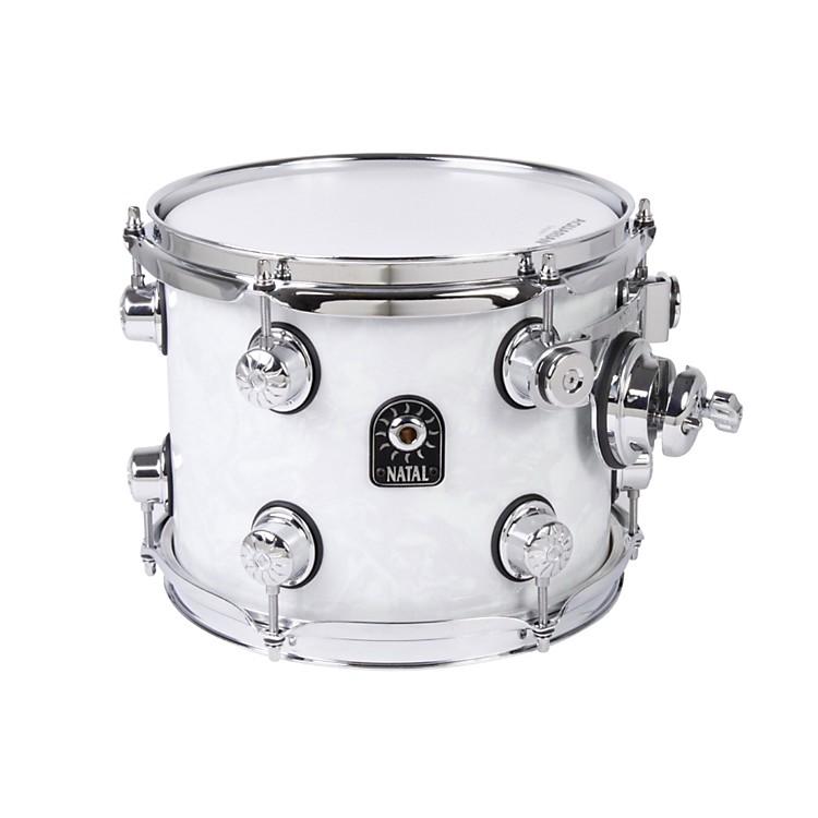 Natal DrumsAsh Series Tom TomWhite Swirl10x8