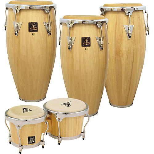 LP Aspire 3-Piece Conga Set with Free Bongos!