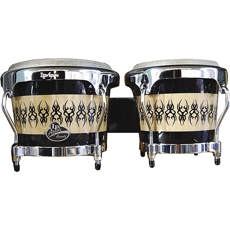 LP Aspire Accent Wood Bongos with Scarab Finish Scarab