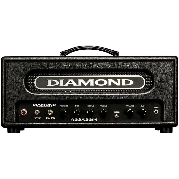 Diamond AmplificationAssassin Vanguard Series 22W Tube Guitar Amp HeadBlack