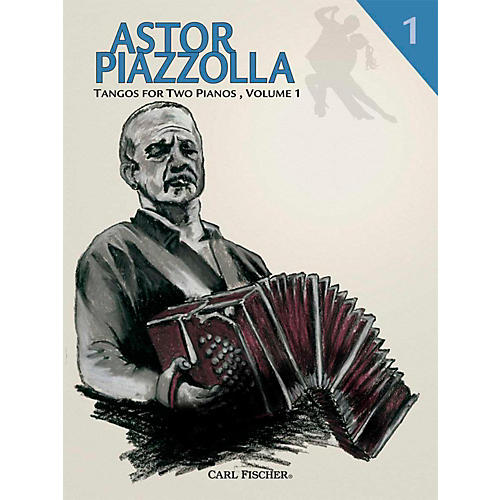 Carl Fischer Astor Piazzolla - Tangos for Piano (Book)-thumbnail