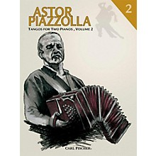 Carl Fischer Astor Piazzolla - Tangos for Piano (Book)