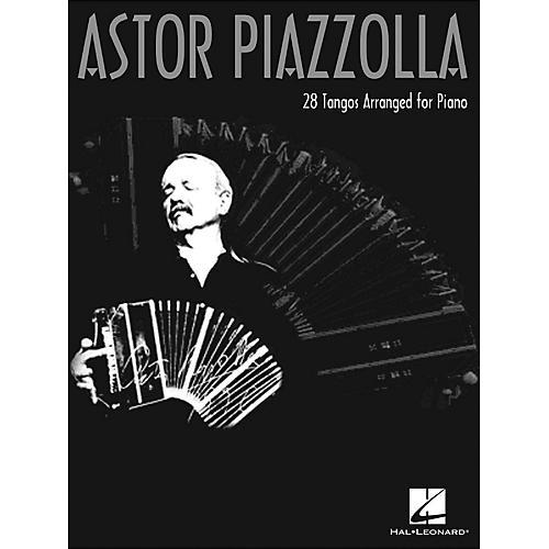 Hal Leonard Astor Piazzolla 28 Tangos Arranged for Piano-thumbnail