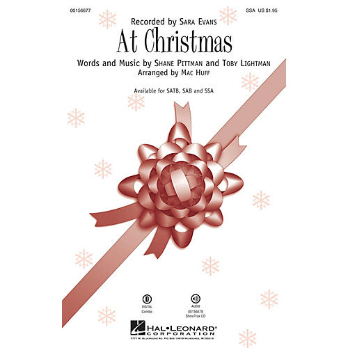 Hal Leonard At Christmas SSA by Sara Evans arranged by Mac Huff-thumbnail