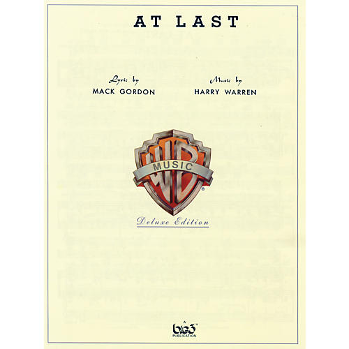 Alfred At Last Sheet Music By Harry Warren Standard-thumbnail