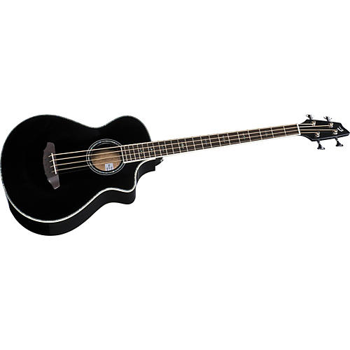 Breedlove Atlas Series Stage Black Magic B35 Acoustic-Electric Bass Guitar
