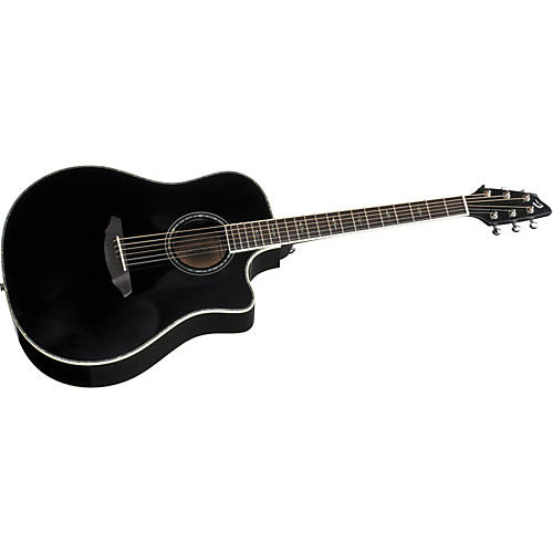 Breedlove Atlas Series Stage Black Magic D25 Dreadnought Acoustic-Electric Guitar