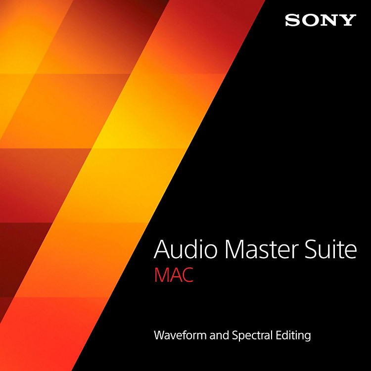 Sony Audio Master Suite Mac Software Download