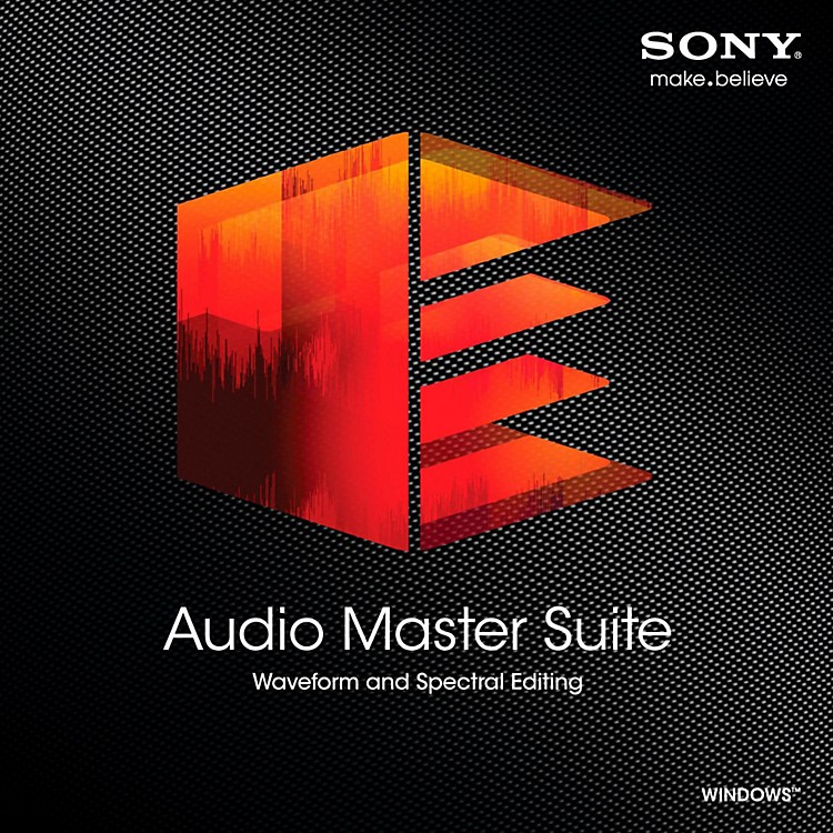 Sony Audio Master Suite Software Download